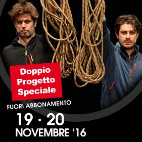 """""""PUNTO DI NON RITORNO"""" di e con Mattia Fabris e Jacopo Bicocchi"""