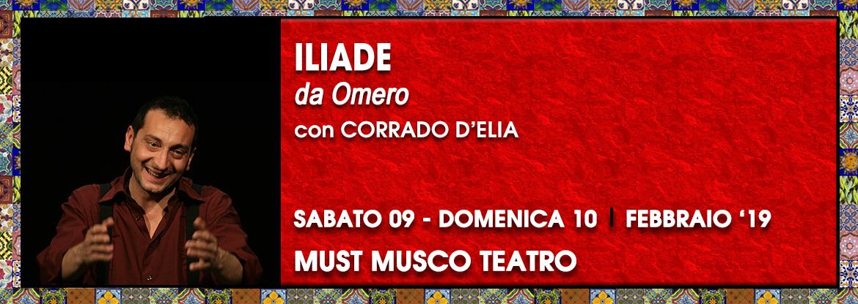 Iliade Corrado d'Elia - Palco OFF CATANIA