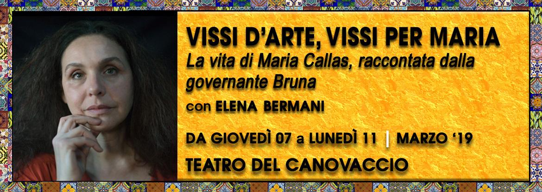 Vissi d'arte Maria Callas Elena Bermani