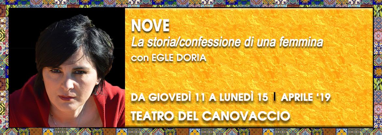 Nove Egle Doria Canovaccio Catania Palco Off Catania