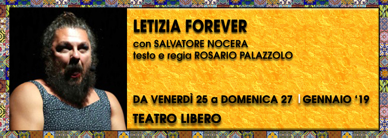 Letizia Forever Teatro Milano