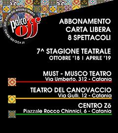 abbonamento Palco OFF Catania 8 spettacoli